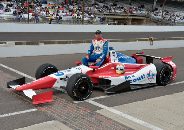17-18 May, 2014, Indianapolis, Indiana, USA #19 Justin Wilson, Dale Coyne Racing ©2014 Dan R. Boyd LAT Photo USA