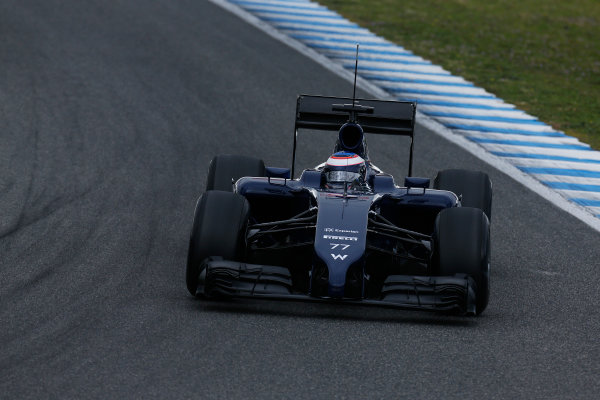 2014 F1 Pre Season Test 1 - Preview Circuito de Jerez, Jerez, Spain. Tuesday 28 January 2014. Valtteri Bottas, Williams FW36 Mercedes. World Copyright: Alastair Staley/LAT Photographic. ref: Digital Image _R6T8658