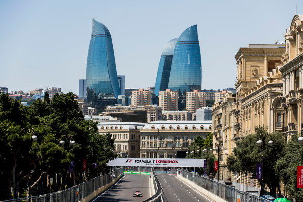 2017 FIA Formula 2 Round 4. Baku City Circuit, Baku, Azerbaijan. Friday 23 June 2017. Ralph Boschung (SUI, Campos Racing)  Photo: Zak Mauger/FIA Formula 2. ref: Digital Image _56I6667