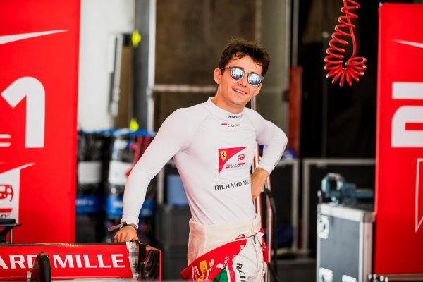 2017 FIA Formula 2 Round 4. Baku City Circuit, Baku, Azerbaijan. Friday 23 June 2017. Charles Leclerc (MCO, PREMA Racing)  Photo: Zak Mauger/FIA Formula 2. ref: Digital Image _56I6556