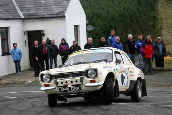 Isle of Man Historic Rally. 9th - 10th July 2010.David Stokes/Guy Weaver - Ford RS1600.World Copyright: Ebrey/LAT Photographic.