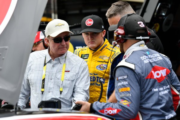 NASCAR XFINITY Series Irish Hills 250 Michigan International Speedway, Brooklyn, MI USA Friday 16 June 2017 Richard Childress, Ty Dillon, Rheem Chevrolet Camaro, Austin Dillon, Richard Childress Racing, Dow Salutes Veterans Chevrolet SS World Copyright: Logan Whitton LAT Images