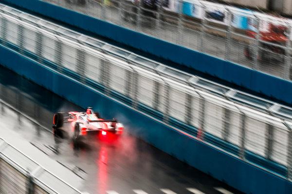 2016/2017 FIA Formula E Championship. Round 9 - New York City ePrix, Brooklyn, New York, USA. Friday 14 July 2017. Nick Heidfeld (GER), Mahindra Racing, Spark-Mahindra, Mahindra M3ELECTRO. Photo: Sam Bloxham/LAT/Formula E ref: Digital Image _J6I2933