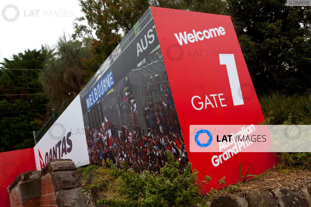 2011 Australian Grand Prix - Tuesday