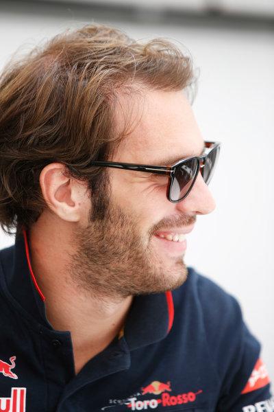 Interlagos, Sao Paulo, Brazil. Sunday 9 November 2014. Jean-Eric Vergne, Toro Rosso. World Copyright: Charles Coates/LAT Photographic. ref: Digital Image _J5R5528