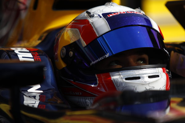 2015 GP2 Series Round 2. Circuit de Catalunya, Barcelona, Spain.  Sunday 10 May 2015 Pierre Gasly (FRA, DAMS)  Photo: Sam Bloxham/GP2 Media Service ref: Digital Image _G7C3648