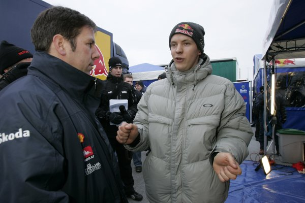 2006 FIA World Rally Champs. Round two Swedish Rally.2nd-5th February 2006.Mattias Ekstrom, Skoda, Portrait.World Copyright: McKlein/LAT