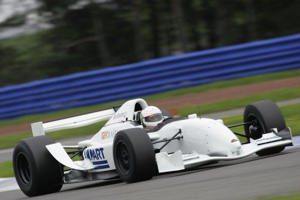 2005 GP Masters TestingSilverstone, England26/10/05Andrea de Cesaris. Action.World Copyright: Glenn Dunbar / LAT PhotographicDigital Image Only