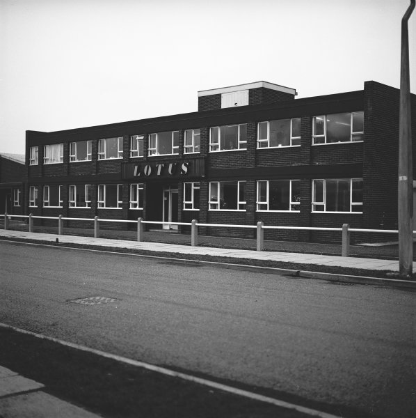 Lotus Factory, Hethel, Norfolk, England.The outside of the Lotus factory.World Copyright: LAT Photographic.Ref:  12073.