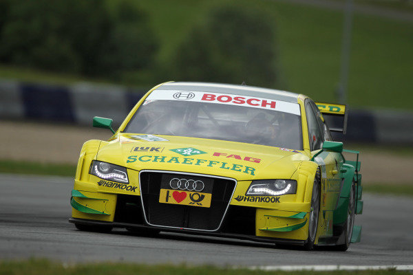 Martin Tomczyk (GER), Audi Sport Team Phoenix.DTM, Rd3, Red Bull Ring, Spielberg, Austria. 3-5 June 2011.