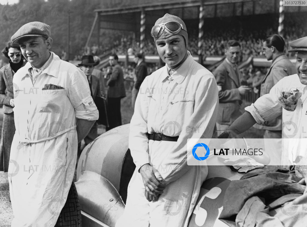 Donington Park, England. 2nd October 1937.