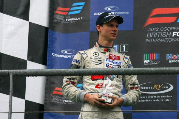 Spa-Francorchamps, Belgium. 26th - 28th July 2012.Michael Lewis (USA) Prema Powerteam Dallara Mercedes.World Copyright: Ebrey/LAT Photographic.