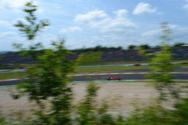 Fernando Alonso (ESP) Ferrari F138. Formula One World Championship, Rd9, German Grand Prix, Qualifying, Nurburgring, Germany, Saturday 6 July 2013.