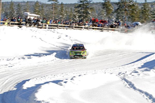 2010 FIA World Rally ChampionshipRound 01Rally Sweden 11-14 February 2010Mikko Hirvonen, Ford WRC, ActionWorldwide Copyright: McKlein/LAT