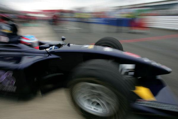 2005 GP2 Series - Great BritainSilverstone , England8th - 10th July 2005Friday QualifyingAdam Carroll (GB, Super Nova International). Portrait. World Copyright: GP2 Series Media Service ref: Digital Image Only