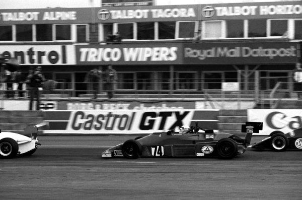 Calvin Fish (GBR), Van Diemen. British Formula Ford 2000. Silverstone, England, 28 March 1982.