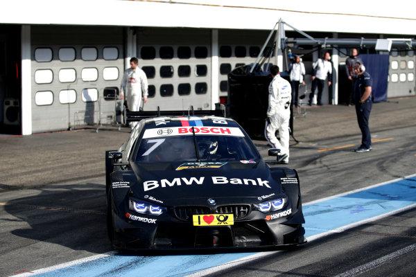 2017 DTM Testing & Media Day Hockenheim, Germany. Thursday 6 April 2017. Maxime Martin, BMW Team RBM, BMW M4 DTM. World Copyright: Alexander Trienitz/LAT Images ref: Digital Image 2017-DTM-MD-HH-AT1-0843