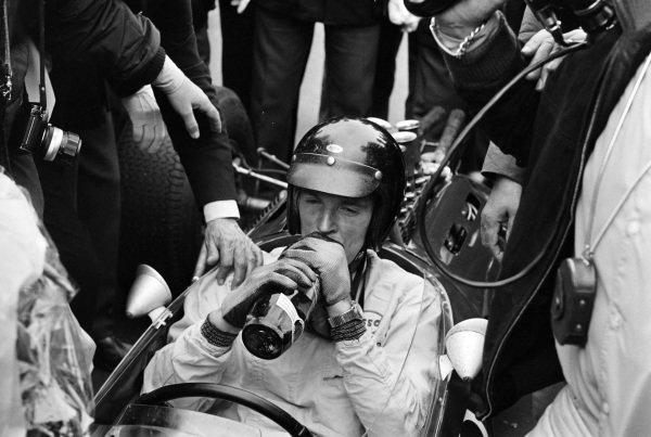Dan Gurney after the race.
