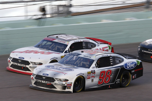 #98: Chase Briscoe, Stewart-Haas Racing, Ford Mustang Ford Performance #00: Cole Custer, Stewart-Haas Racing, Ford Mustang Haas Automation