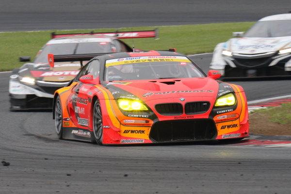 GT300 Winner Shinichi Takagi & Sean Walkinshaw,  ARTA BMW M6 GT3.
