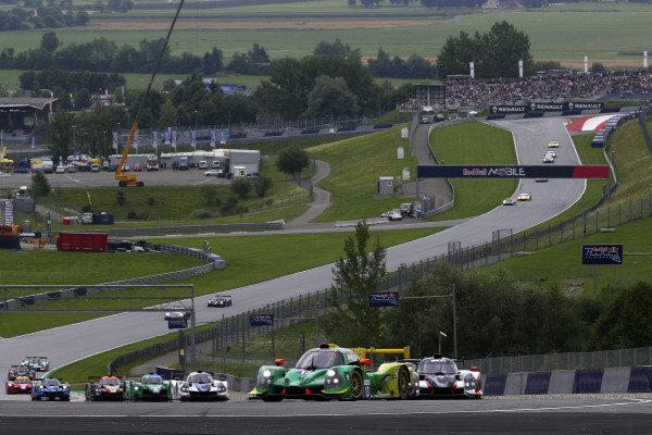 #13 Jakub Smiechowski / Martin Hippe INTER EUROPOL COMPETITION M Ligier JS P3 - Nissan