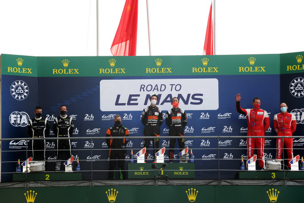 Road to Le Mans GT3 Podium
