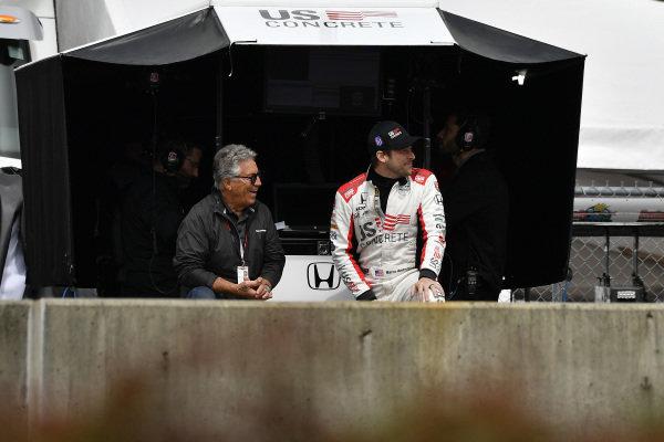 Mario Andretti, Marco Andretti, Andretti Herta with Marco & Curb-Agajanian Honda