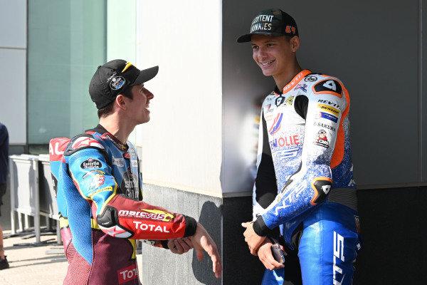 Alex Marquez, Marc VDS Racing, Bo Bendsneyder, RW Racing GP.