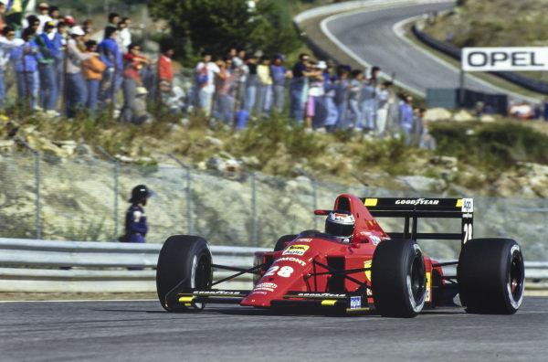 Gerhard Berger, Ferrari 640.
