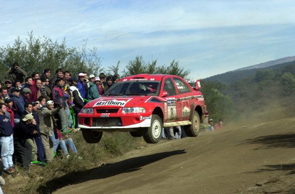 2001 World Rally Championship. ArgentinaMay 3rd-6th, 2001Freddy Loix on stage 11.Photo: Ralph Hardwick/LAT