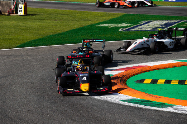 AUTODROMO NAZIONALE MONZA, ITALY - SEPTEMBER 07: Liam Lawson (NZL, MP Motorsport) during the Monza at Autodromo Nazionale Monza on September 07, 2019 in Autodromo Nazionale Monza, Italy. (Photo by Joe Portlock / LAT Images / FIA F3 Championship)