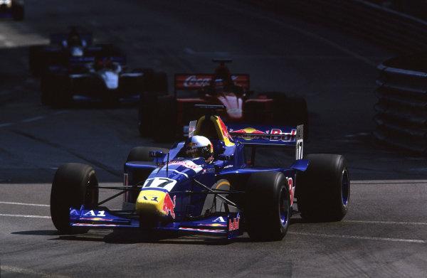 2001 F3000 ChampionshipMonte Carlo, Monaco. 26th May 2001Ricardo Mauricio (red Bull Jnr. Team) action.World Copyright: Clive Rose / LAT Photographicref: 35mm Image A12