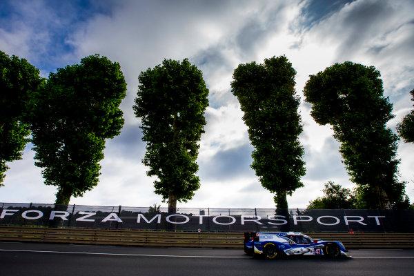 2016 Le Mans 24 Hours. Circuit de la Sarthe, Le Mans, France. Saturday 18 June 2016. KCMG / Oreca 05-Nissan - Tsugio Matsuda (JPN), Matthew Howson (GBR), Richard Bradley (GBR).  World Copyright: Zak Mauger/LAT Photographic ref: Digital Image _L0U5870