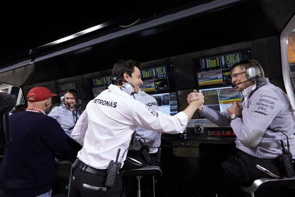 Bahrain International Circuit, Sakhir, Bahrain. Saturday 2 April 2016. Toto Wolff, Executive Director (Business), Mercedes AMG. World Copyright: Steve Etherington/LAT Photographic ref: Digital Image SNE17459