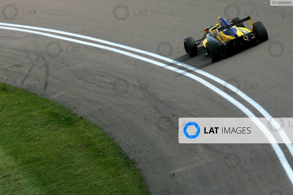 Rockingham, Northamptonshire. 17th - 18th September 2011.Tio Ellinas (CYP) Atech Reid Formula Renault.World Copyright: Ebrey/LAT Photographic.