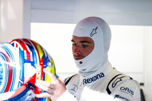 Oliver Rowland, Williams Martini Racing.