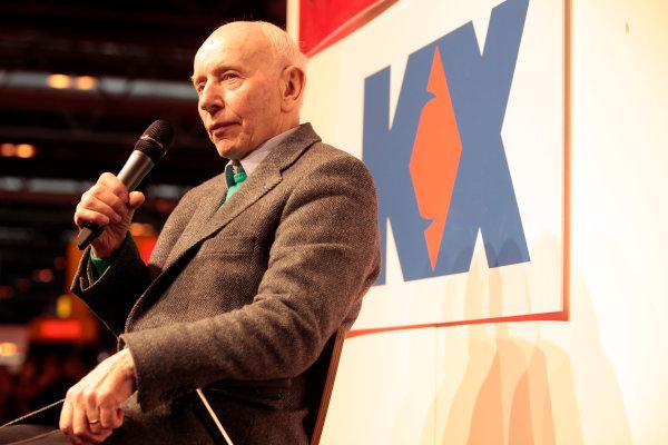 Autosport International Show NEC, Birmingham.  Thursday 10th January 2013. John Surtees on stage. World Copyright:Alastair Staley/LAT Photographic ref: Digital Image _MG_1588