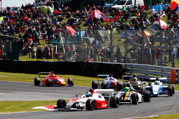 2015 MSA Formula Powered by Ford EcoBoost, Oulton Park, Cheshire. 5th - 7th June 2015. Toby Sowery (GBR) Fortec Motorsports MSA Formula. World Copyright: Ebrey / LAT Photographic.