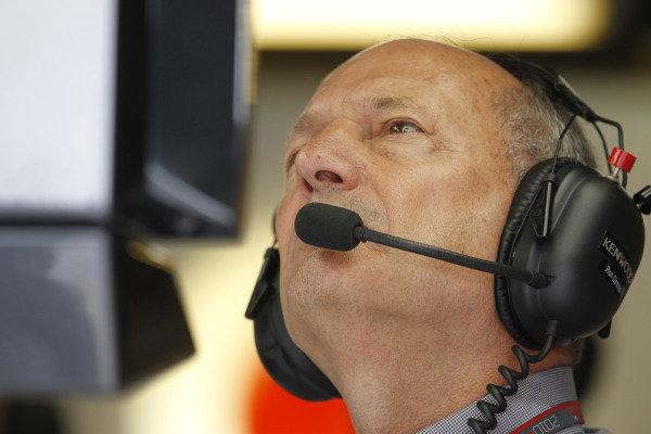 Circuit Gilles Villeneuve, Montreal, Canada 12th June 2010 Ron Dennis, Executive Chairman, McLaren. Portrait.   World Copyright: Lorenzo Bellanca/LAT Photographic ref: Digital Image _A8C6177