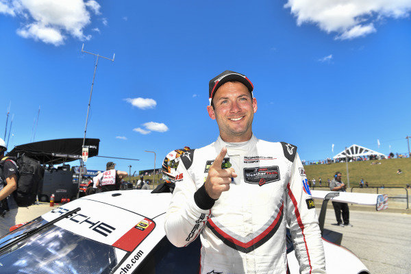 #911 Porsche Team North America Porsche 911 RSR, GTLM:  Nick Tandy - qualifies on pole position.