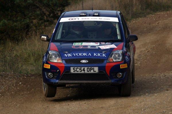 2007 British Rally Championship,Rally Yorkshire, 6th October 2007,Fraser Jones, Ford, World Copyright: Ebrey/LAT Photographic.