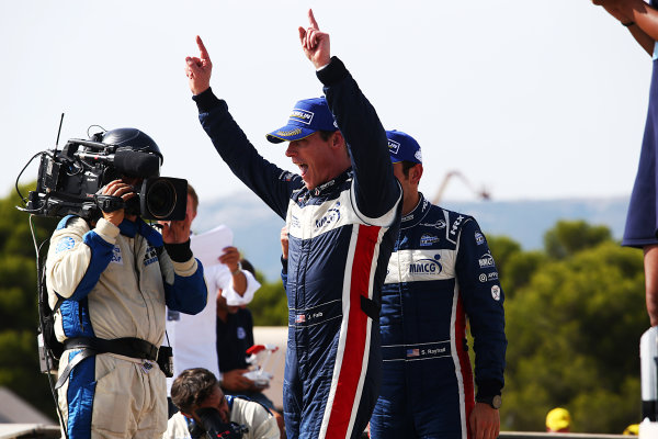 2017 European Le Mans Series, Le Castellet, France. 25th - 27th August 2017. #2 John Falb (USA) / Sean Rayhall (USA) - UNITED AUTOSPORTS - Ligier JS P3 ? Nissan World Copyright: JEP/LAT Images