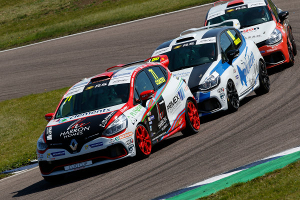 Renault Clio Cup Rockingham, 26th-27th August 2017, Max Coates (GBR) Ciceley Motorsport Renault Clio Cup World copyright.. JEP/LAT Images