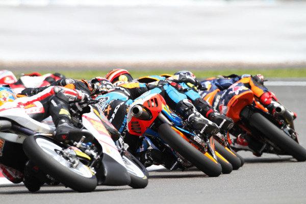 British Grand Prix.  Silverstone, England. 15th-17th June 2012.  Moto3.  World Copyright: Kevin Wood/LAT Photographic.  ref: Digital Image IMG_8727a