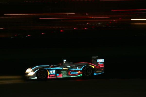 2004 American Le Mans Series (ALMS)Laguna Seca, California, USA. 15 - 16 October.Werner at speed.World Copyright: Richard Dole/LAT Photographicref: Digital Image Only