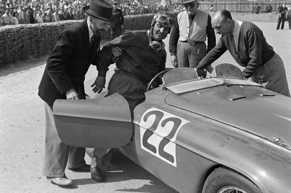 Lord Selsdon / Luigi Chinetti, Ferrari 166MM.