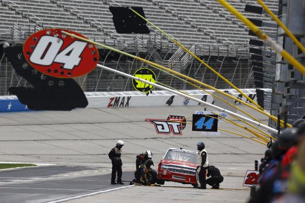 Brett Moffitt, GMS Racing Chevrolet Superior Essex, Copyright: Chris Graythen/Getty Images.