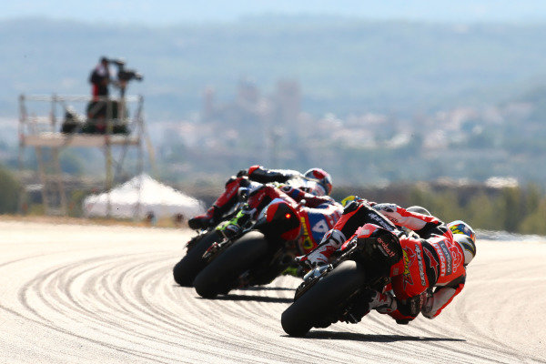 Chaz Davies, ARUBA.IT Racing Ducati, Alvaro Bautista, Team HRC.