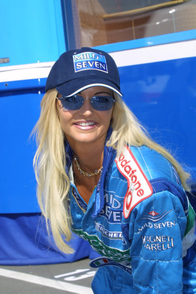 2001 Austrian Grand Prix.A1-Ring, Zeltweg, Austria.11-13 May 2001.A Benetton model.World Copyright - Elford/LAT Photographicref: 8 9 MB Digital