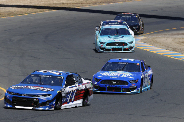 #77: Ben Rhodes, Spire Motorsports, Chevrolet Camaro Kaeding Performance